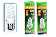 2x Small Bright Energy Efficient Light Bulb 9w BC (UK)  White Daylight, Craft