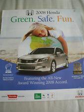 Honda range brochure 2008 Canadian market English text