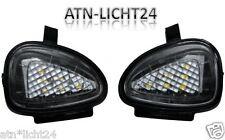 2x VW Golf Scharan LED SMD Aussenspiegel Umfeldbeleuchtung Xenon weiß 6000K A562