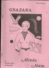 Gsazara by Alinda Alain.  Star Trek fanzine