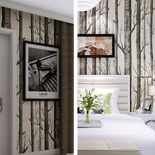 Nordic Forest Wallpaper Birch Tree Modern Minimalist Black White Wall Sticker