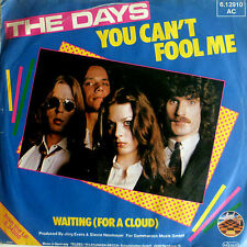 "7"" NDW 1980 IN VG++ ! THE DAYS : You Can´t Fool Me"