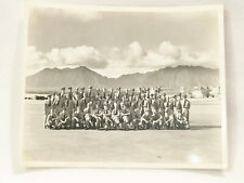 "VINTAGE BLACK AND WHITE AIR FORCE GROUP PHOTO - 8"" x 10"""