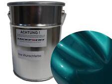 4 LITRES basislack prêt à être pulvérisé bonbons Turquoise metallique