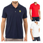 Puma Ferrari Polo Mens High Quality Sports Cotton Shirt