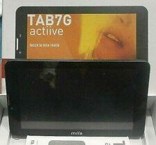 TABLET miia TAB7G ACTIVE 3G USATO NON FUNZIONANTE DISPLAY ROTTO