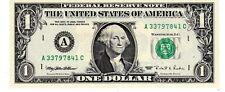 Etats UNIS AMERIQUE USA Billet 1 $ Dollar 1995 WEB 1 / 9 RARE A BOSTON NEUF UNC