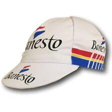 BANESTO RETRO CYCLING TEAM BIKE CAP - Vintage - Made in Italy - Miguel Indurain