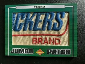 2021 PRESIDENTS CHOICE SOLITAIRE 2.0 Dick Trickle JUMBO PATCH 1/1