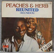 PEACHES & HERB - REUNITED - VINILO SINGLE