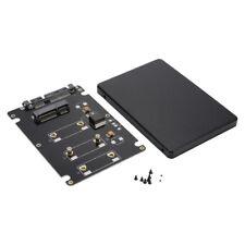 """Mini PCIE mSATA SSD auf 2.5"""" SATA3 Adapterkarte mit 7mm Dick Fall Schwarz AC1293"""