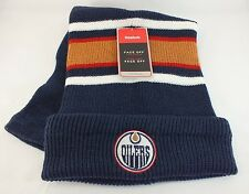 EDMONTON OILERS NHL  KNITTED STOCKING HAT WINTER BEANIE NEW BY REEBOK