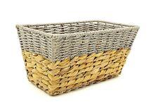 Hyacinth Shelf Baskets (Set of 2) by Handcrafted 4 Home