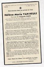 OORLOGSSLACHTOFFER H.VAN HEULE °KEMMEL - HEUVELLAND  +KOMEN 26 Mei 1940 (A.MAES)