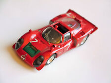Alfa Romeo 33.2 Spyder en Rouge Rouge Rosso ROJA Red #7, BEST Model Cars 1:43