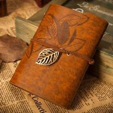 Notebook Classic Journal Diary Sketchbook Retro Leather PU Case Blank Page YL MT