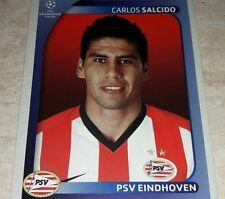 FIGURINA CALCIATORI PANINI CHAMPIONS 2008/09 PSV EINDHOVEN SALCIDO ALBUM