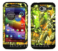 KoolKase Hybrid Cover Case for Motorola Electrify M XT901 - Camo Mossy 10