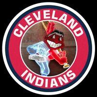 Chief Wahoo MAGNET Cleveland Indians Custom Vinyl  MLB Baseball