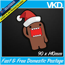 Domo Kun Sticker/Decal -  XMAS JDM Drift Anime Turbo Japan Funny Nom Vinyl 4x4