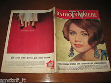 TV RADIOCORRIERE 1965/42=SYLVA KOSCINA=COVER MAGAZINE COPERTINA RIVISTA=