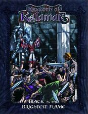 Kingdoms of Kalamar : Black as the Brightest Flame  - D20 3.5 - New