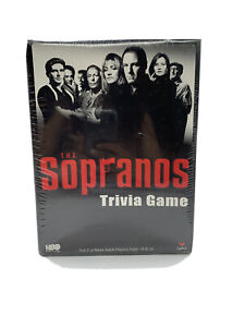 The Sopranos Trivia Game New Sealed