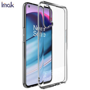 For OnePlus Nord CE / N200 5G IMAK Transparent Shockproof Soft TPU Back Case