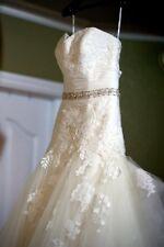 BEAUTIFUL ENZOANI DABRA IVORY WEDDING DRESS
