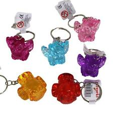 Birthday Party Loot Bag / Pinata Fillers - 12 x Colourful Owl Key Rings