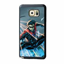 Robin Nightwing Rubber Case Cover For Samsung Galaxy S4 S5 S6 Note 3 4 5 Edge
