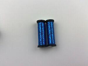 Lot Of 2 Kreinik 006HL Blue High Lustre Blending Filament Thread Floss Sewing