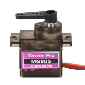 MG90S Metal Gear Micro Servo for Boat Car Plane RC Helicopter, Arduino etc