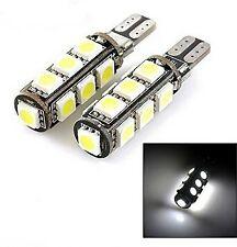 2X Ampoule Veilleuses 13 LED W5W T10 Canbus ANTI ERREUR BLANC XENON