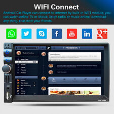 7''Touch Screen 2 Din Bluetooth Car GPS Stereo Radio MP5 3G/USB/FM Player Novel