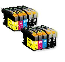 10PK 2Set + 2 Extra BK Ink For Brother LC203 XL MFC-J480DW J485DW J680DW J880DW