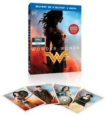 Wonder Woman [Collectible Trading Cards Included] [3D] [Blu-ray] [Digital Copy]