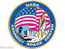 "4"" NASA KENNEDY SPACE CENTER HELMET CAR BUMPER EMBLEM DECAL STICKER MADE IN USA"