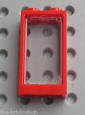 Fenetre LEGO Red Train Window 1 x 2 x 3 ref 60593 / 75827 8403 7938 7597 70721..