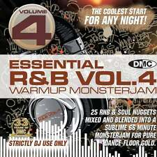 DMC Essential RnB Warm Up Monsterjam Vol 4 Megamix Music DJ CD
