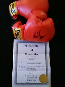 Mike Tyson Signed Everlast Boxing Glove with COA