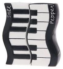 Music Wavy Keyboard Salt & Pepper Shaker