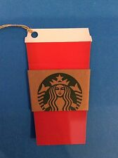 2015 : RED CUP Starbucks Coffee Gift Card