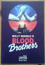 Blood Brothers programme Rhyl Pavilion Theatre 2005 Linda Nolan Keith Burns