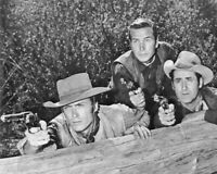 Western TV Show RAWHIDE CLINT EASTWOOD, ERIC FLEMING & SHAB Glossy 8x10 Photo
