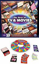 New - THE BEST Of TV & MOVIES - Logo & Trivia Board Game SPIN MASTER Family Fun