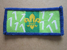 Joining In Award (Number 1) Woven Cloth Patch Badge Boy Scouts Scouting