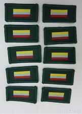 10 Xs Arme Schule Corps Trf Anstecker Tuch Flicken Taktische Anerkennung Flash