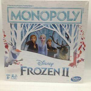 Disney Frozen II Monopoly Board Game Brand New Game
