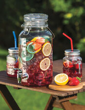 Kitchen Craft Home Made Large Glass Water & Party Drinks Dispenser